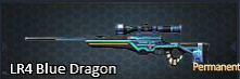 LR4 Blue Dragon